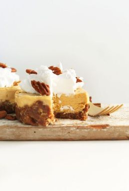 Vegan Pumpkin Cheesecake - ADA's 5 best thanksgiving recipes